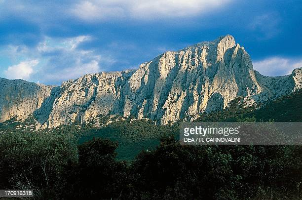 Supramonte of Oliena Gulf of Orosei and Gennargentu National Park Sardinia Italy
