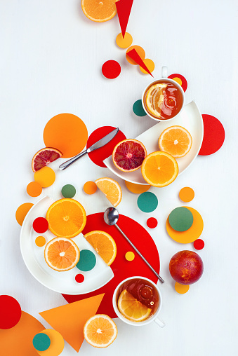 Suprematic lemon tea - gettyimageskorea