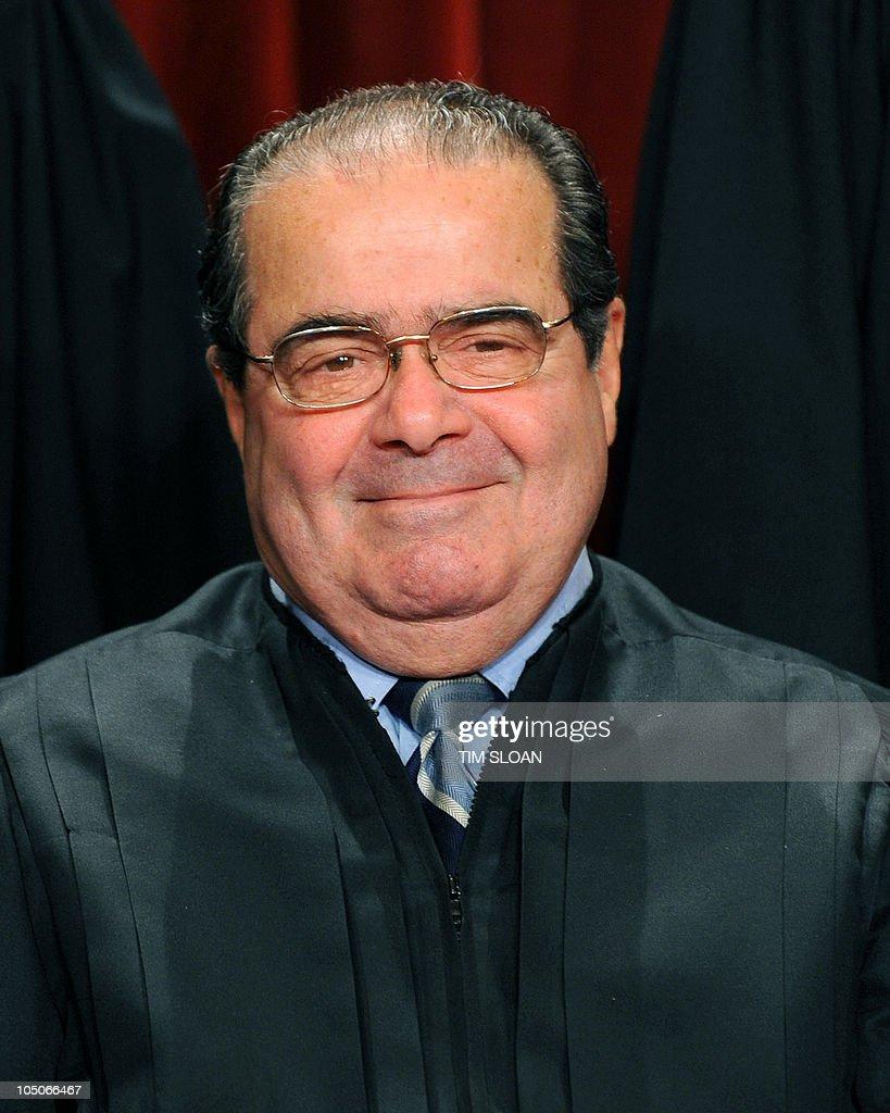 US Supreme Court Associate Justice Anton : News Photo