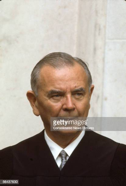 US Supreme Court Associate Justice William J Brennan Jr Washington DC October 9 1970