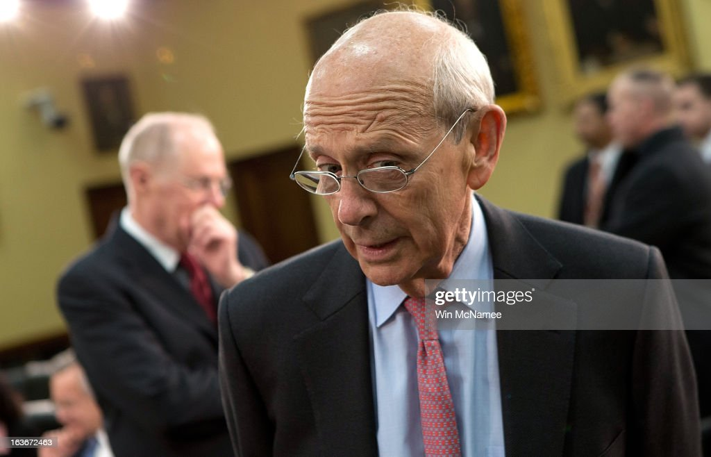 Supreme Court Justices Kennedy And Breyer Testify At House Hearing