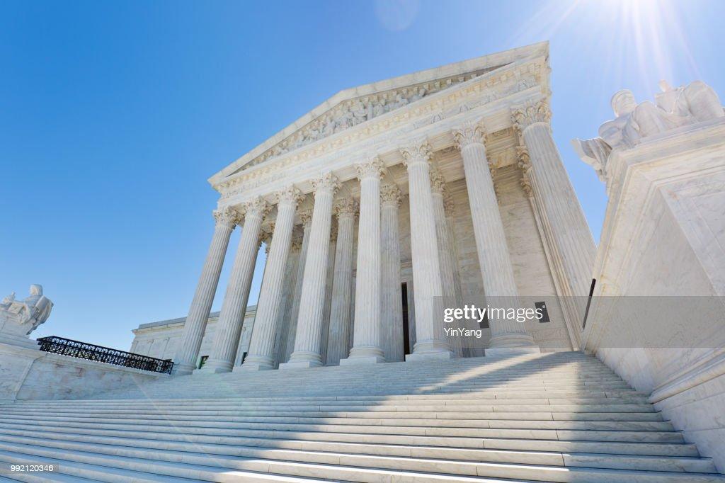 U.S. Supreme Court Building in Washington DC USA : Stock Photo