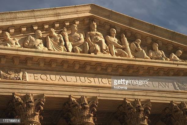 Supreme Court building motto Equal Justice Under Law