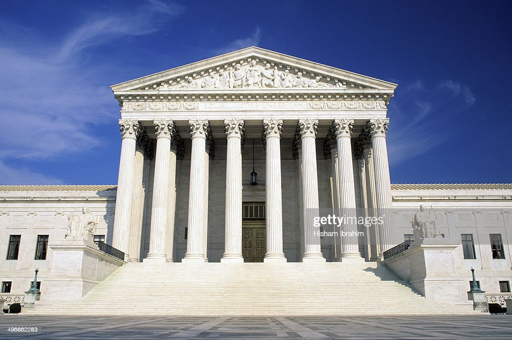 US Supreme Court building : Stock Photo
