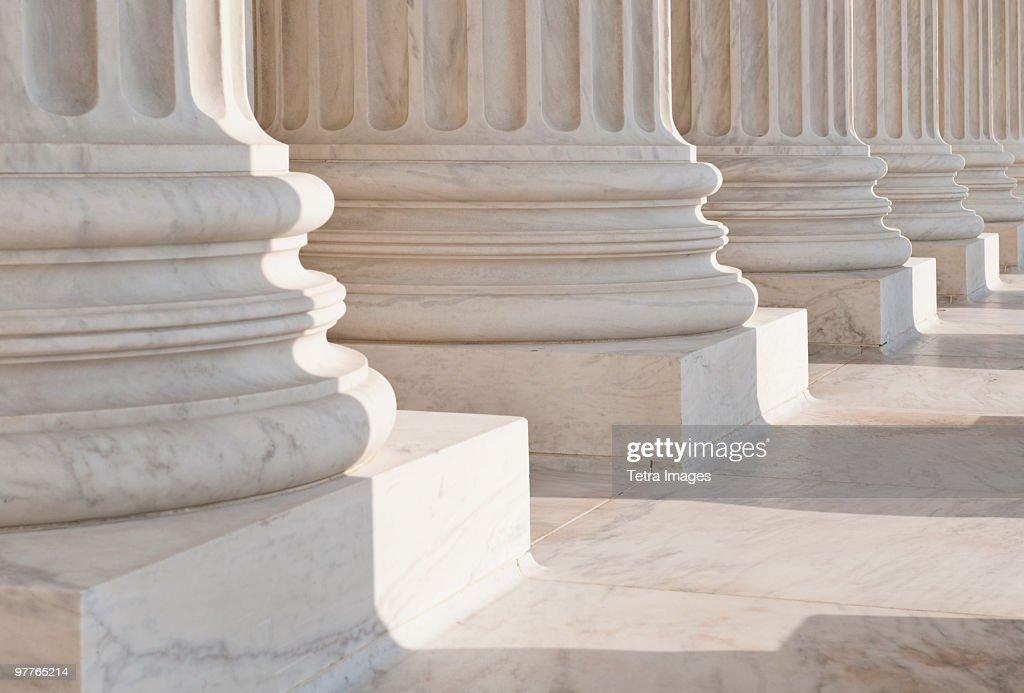 Supreme court building : Stock Photo