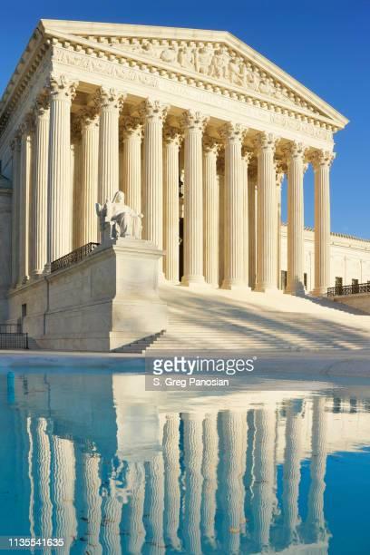 u.s. supreme court building - washington dc - us supreme court building stock pictures, royalty-free photos & images