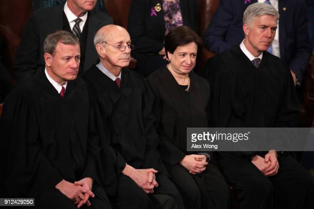 US Supreme Court Chief Justice John G Roberts US Supreme Court Associate Justice Stephen G Breyer US Supreme Court Associate Justice Elena Kagan and...