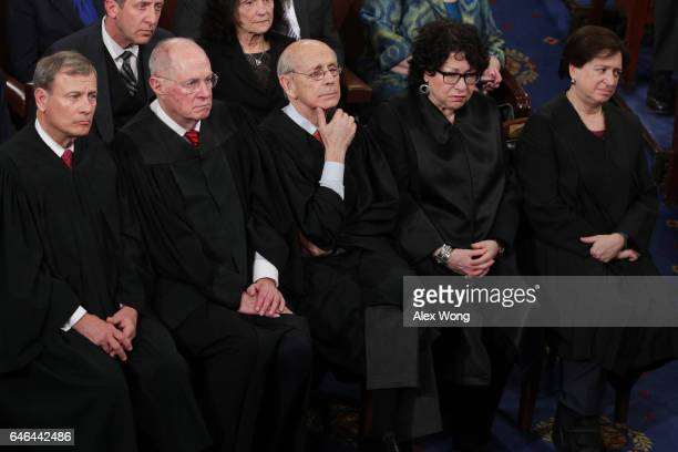 Supreme Court Chief Justice John Roberts Supreme Court Associate Justice Anthony Kennedy Supreme Court Associate Justice Stephen Breyer Supreme Court...