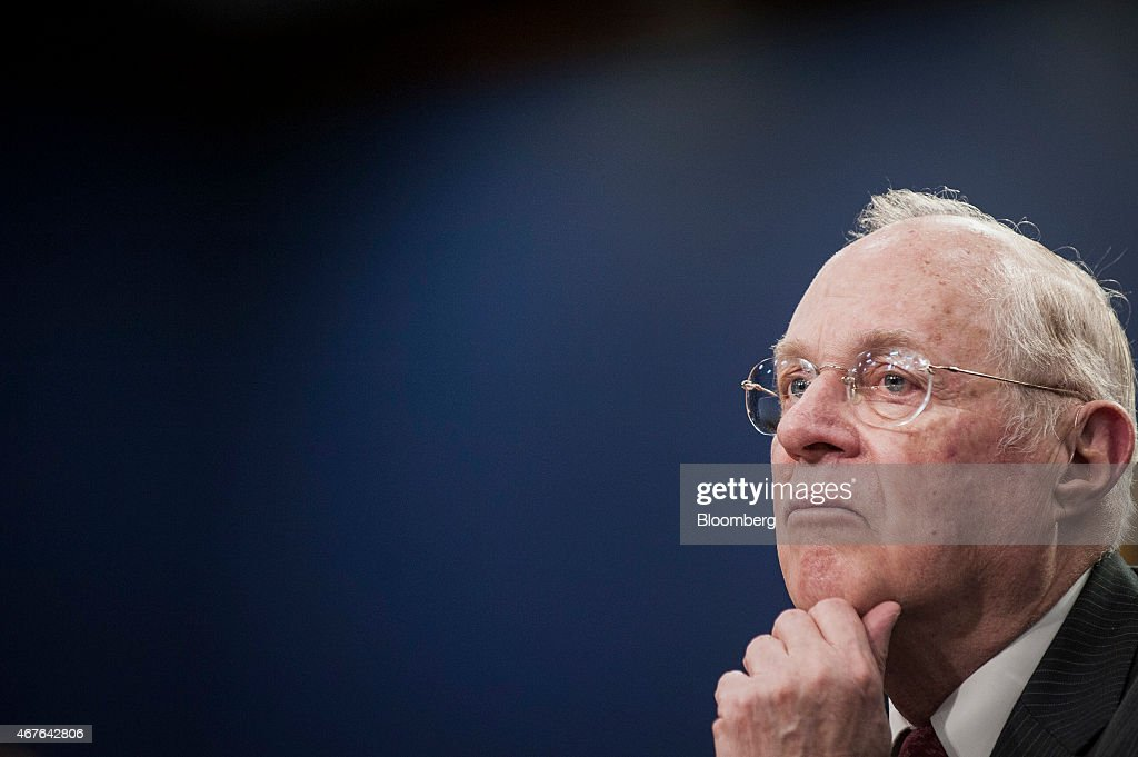 Supreme Court Associate Justices Kennedy And Breyer Testify On Court Budget : News Photo