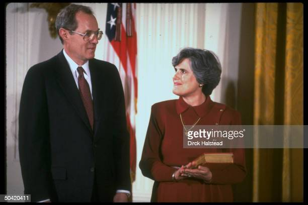 Supreme Court Justice Anthony Mary Kennedy during his swearin ceremony
