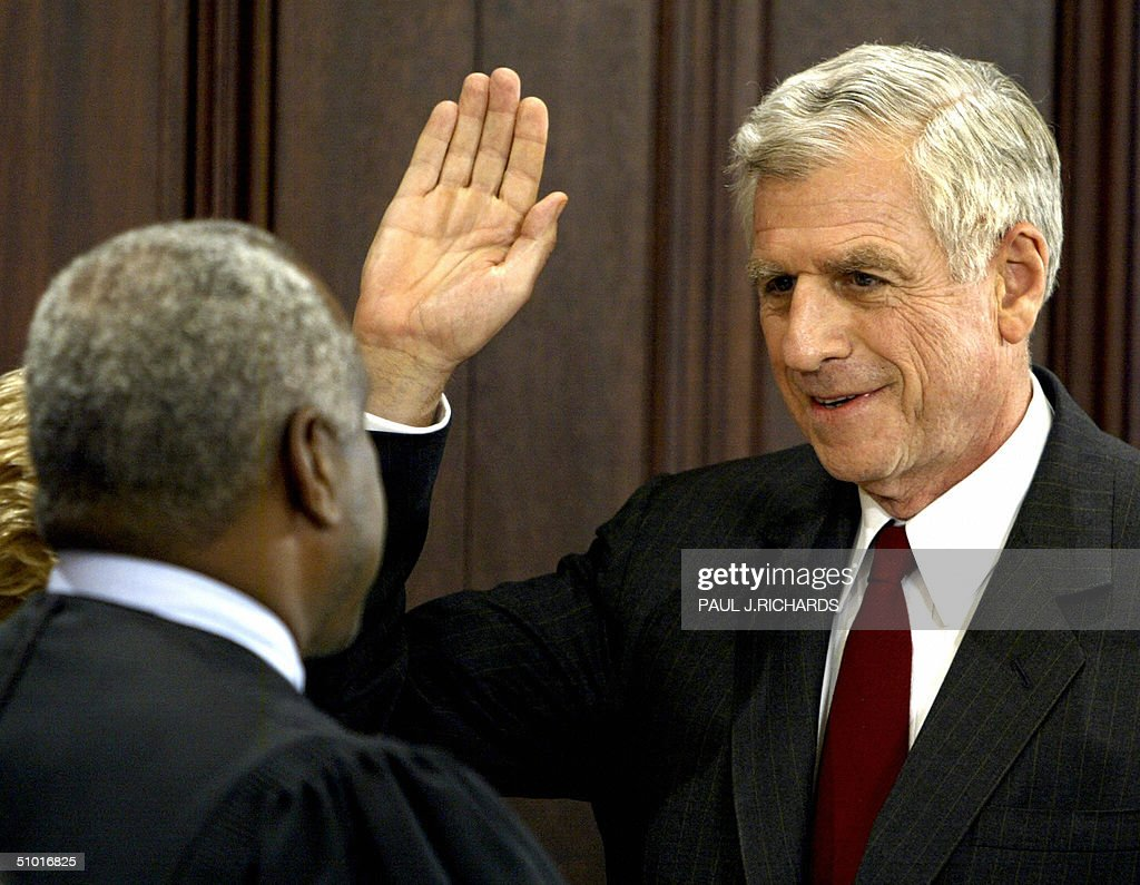 US Supreme Court Justice Clarence Thomas : News Photo