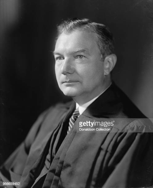 Supreme Court Justice Robert H. Jackson portrait in circa 1945.