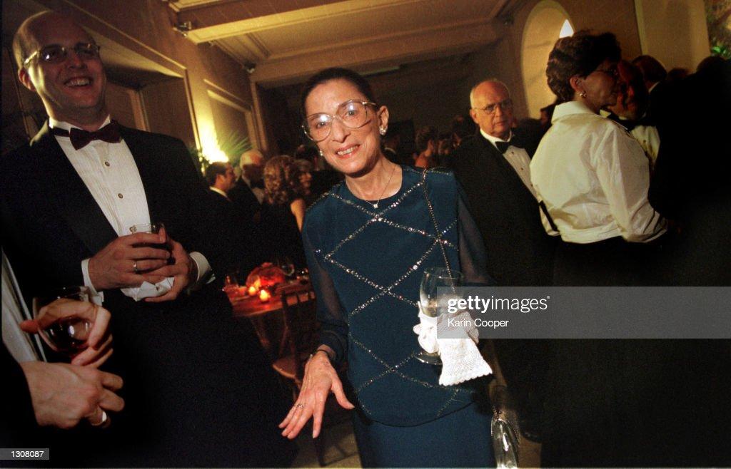U.S. Supreme Court Justices at Gala Dinner : Nachrichtenfoto