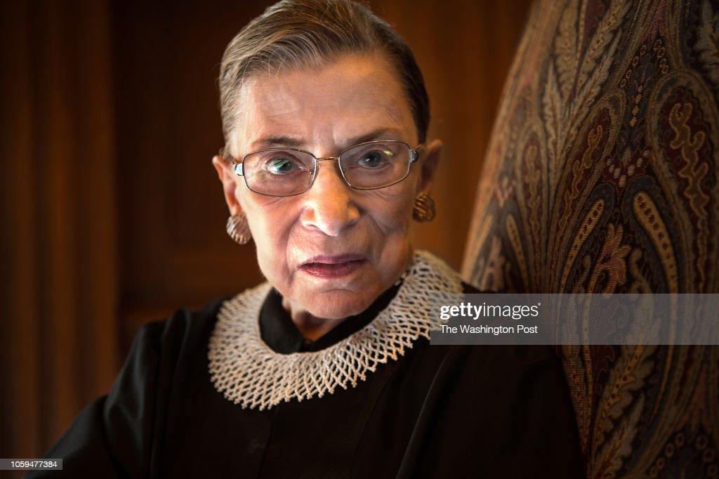 Supreme Court Justice Ruth Bader Ginsburg... : News Photo