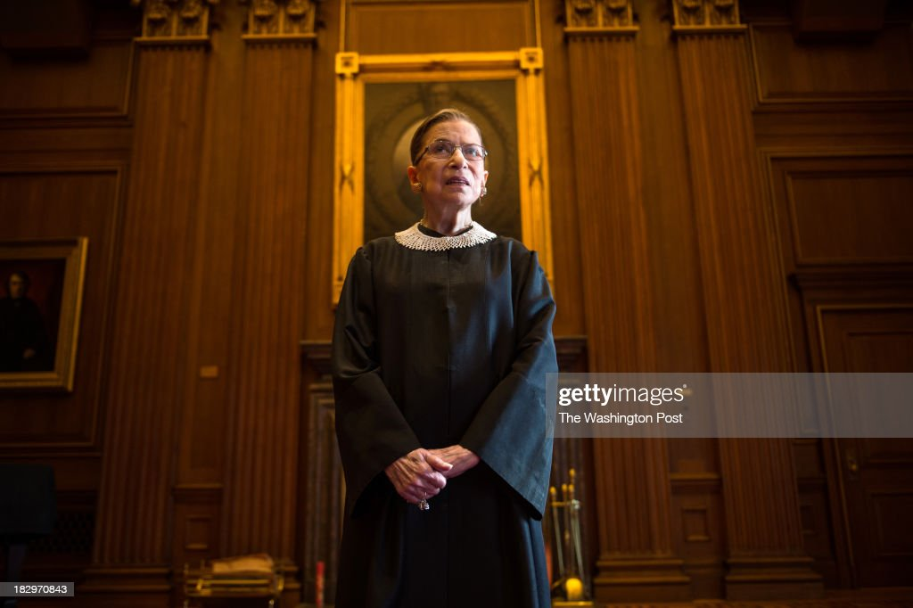 Supreme Court Justice Ruth Bader Ginsburg... : News Photo