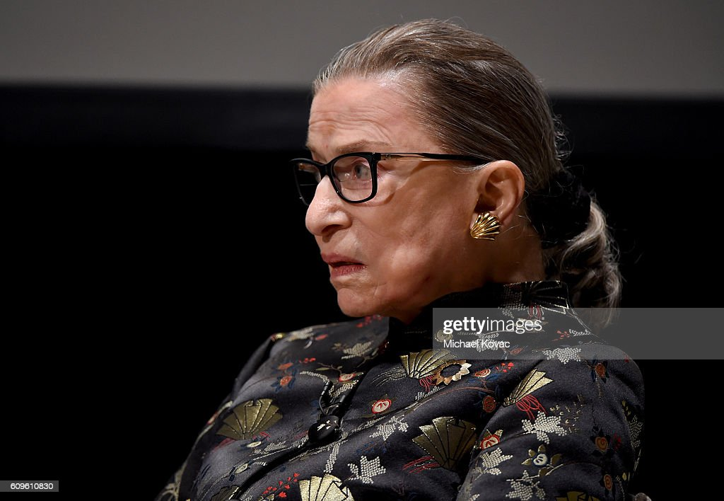 An Historic Evening with Supreme Court Justice Ruth Bader Ginsburg : ニュース写真
