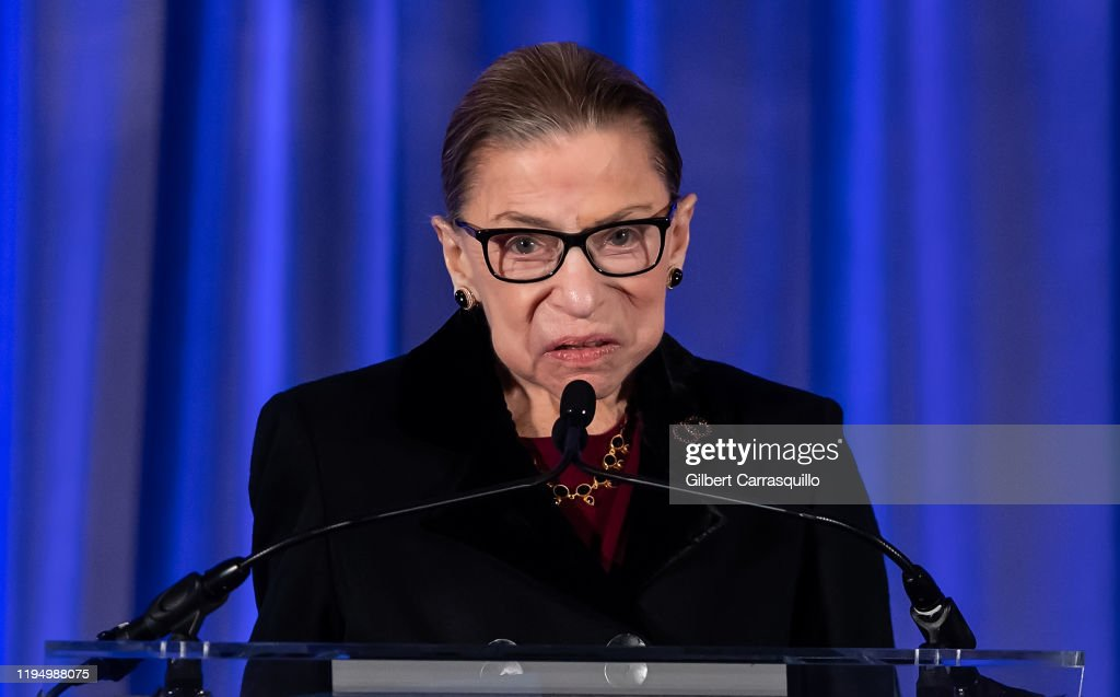 Supreme Court Justice Ruth Bader Ginsburg Induction Into The National Museum Of American Jewish History's Only In America Gallery : News Photo