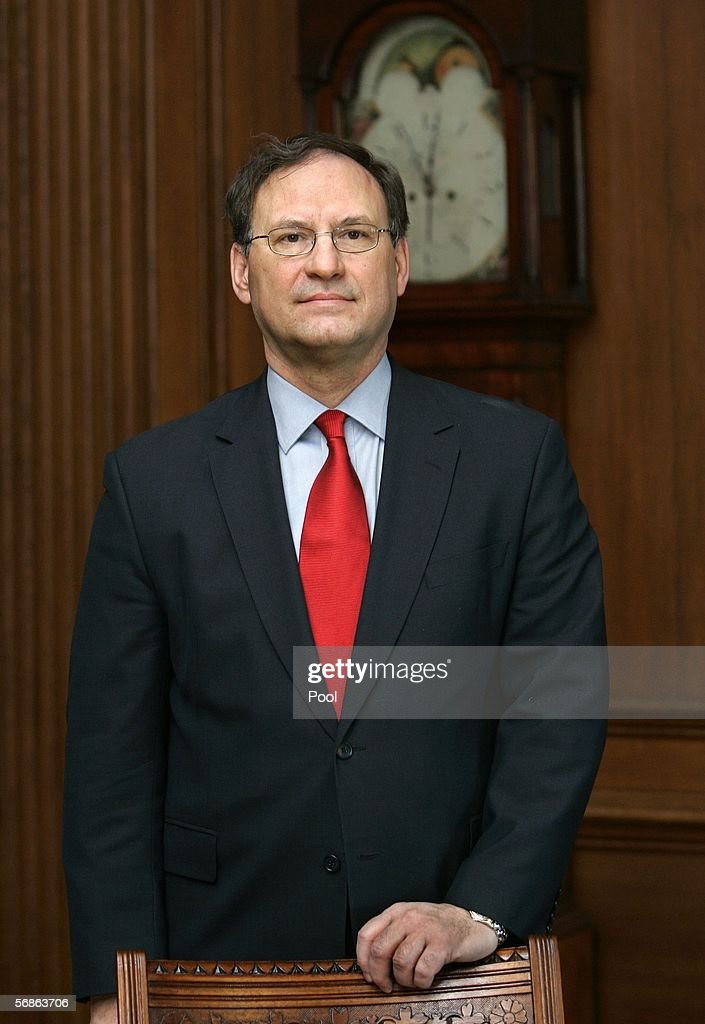 Supreme Court Holds Investiture Ceremony For Samuel Alito