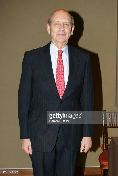 Supreme Court Justice Stephen Breyer during 2006 James Parks Morton Interfaith Awards at The Rubin Museum of Art in New York City, New York, United...