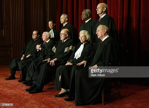 Supreme Court Justices Associate Justice Antonin Scalia Associate Justice John Paul Stevens Chief Justice William H Rehnquist Associate Justice...