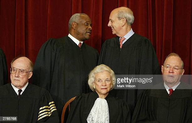Supreme Court Justices Chief Justice William H Rehnquist Associate Justice Sandra Day O'Connor Associate Justice Anthony M Kennedy Associate Justice...