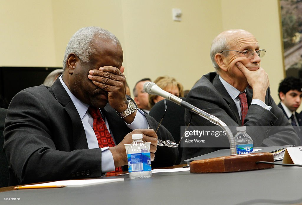 Justices Thomas And Breyer Testify On U.S. Supreme Court FY2011 Budget