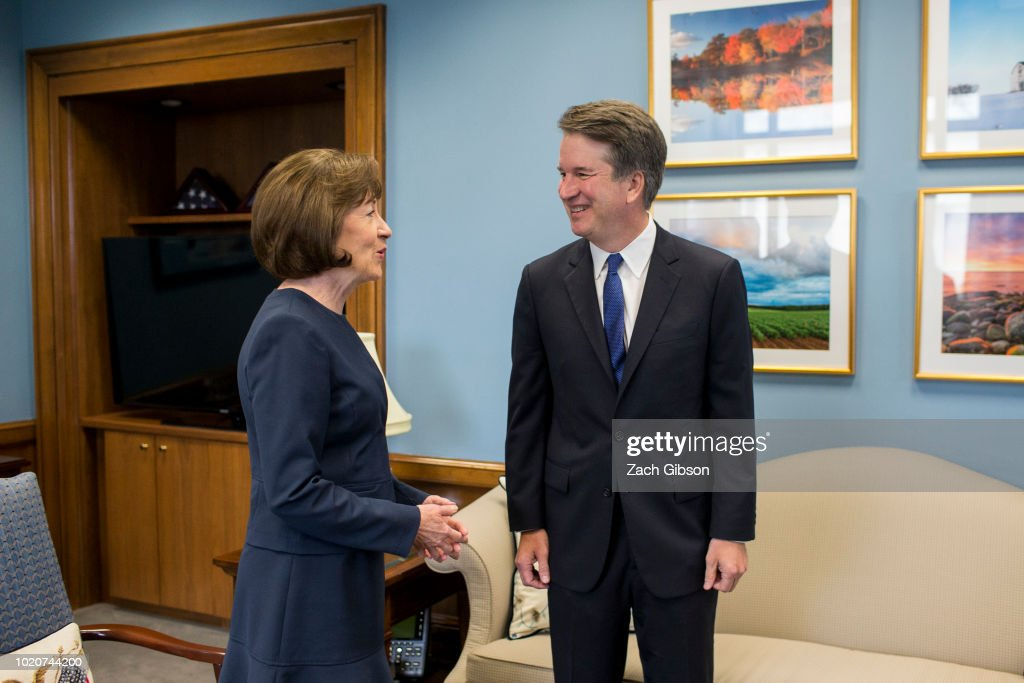 Supreme Court Nominee Brett Kavanaugh Meets With Democratic Senators On Capitol HIll