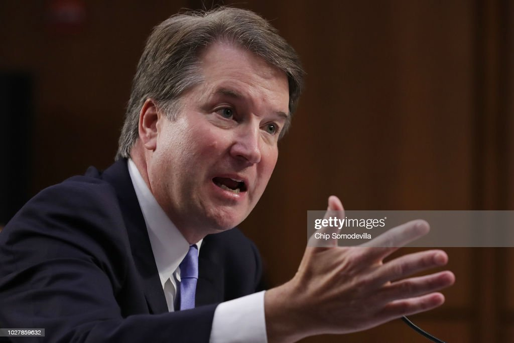 Senate Holds Confirmation Hearing For Brett Kavanaugh To Be Supreme Court Justice : News Photo