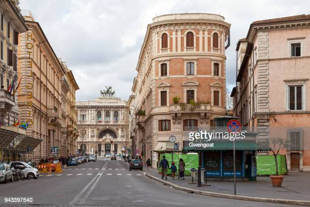supreme court of cassation in rome - gwengoat foto e immagini stock