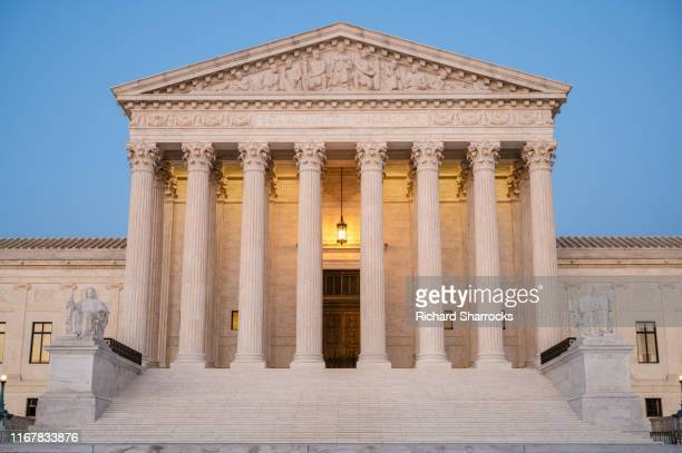 supreme court of the united states - supreme court stock pictures, royalty-free photos & images