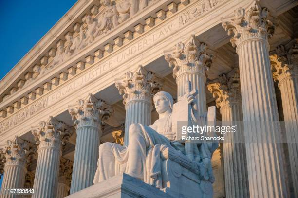 supreme court of the united states, washington dc, usa - supreme court stock pictures, royalty-free photos & images
