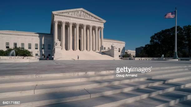 supreme court of the united states, washington dc, usa - washington dc stock pictures, royalty-free photos & images