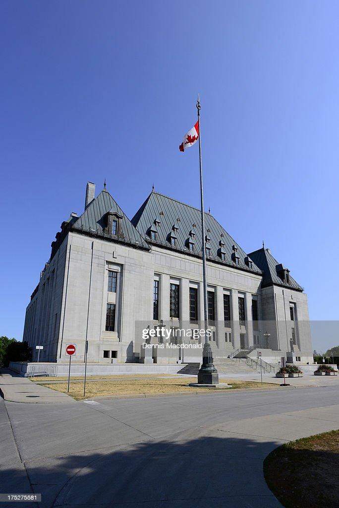 Supreme Court, Ottawa : Stock Photo