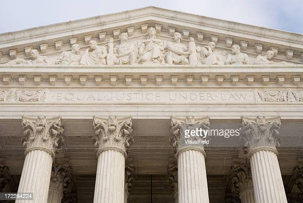 tribunal supremo de los estados unidos - resurgimiento neoclásico fotografías e imágenes de stock