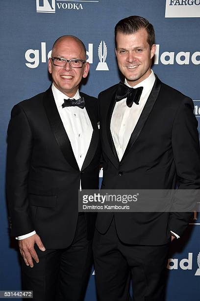 S Supreme Court Plaintiff Jim Obergefell attends the 27th Annual GLAAD Media Awards in New York on May 14 2016 in New York City