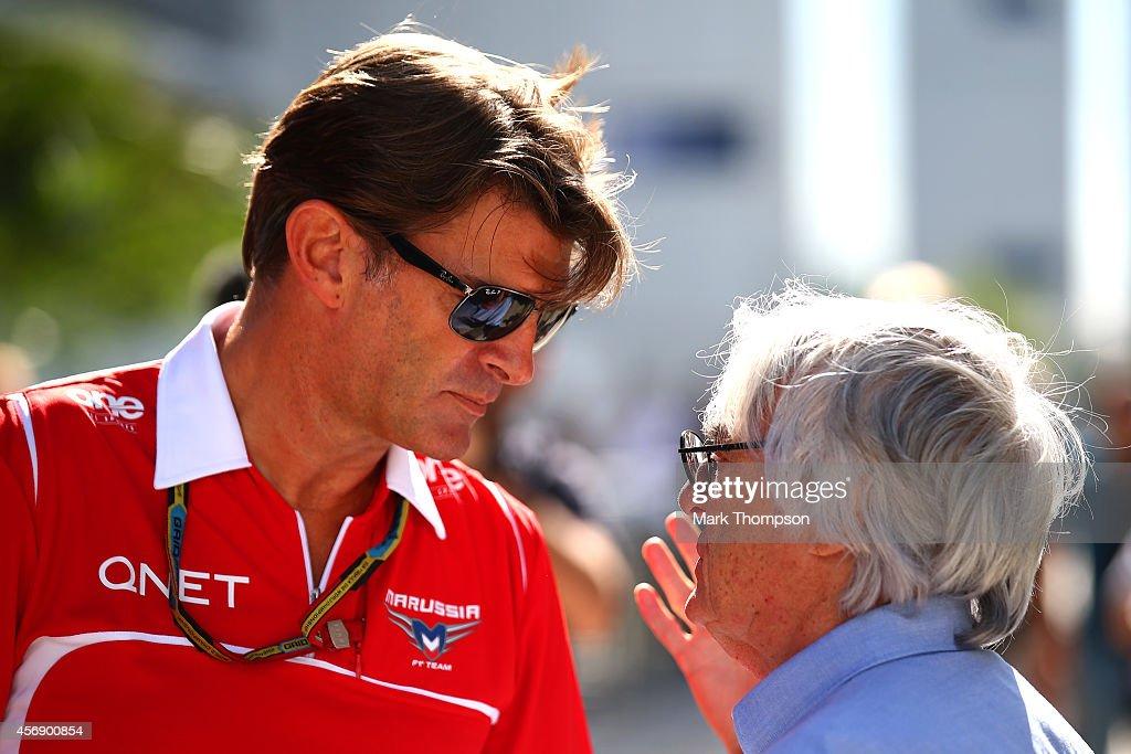 F1 Grand Prix of Russia - Previews : News Photo