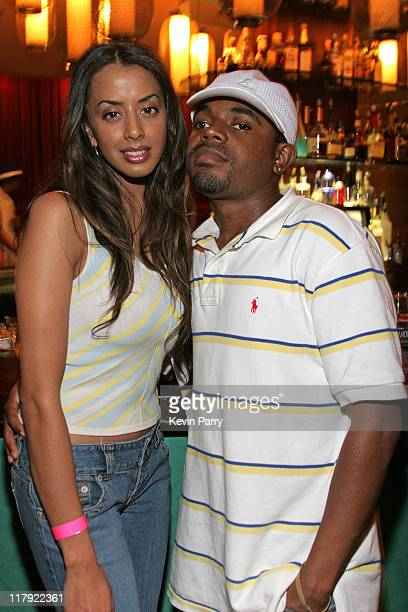 Supriya Sandau and Hassahn Phenomenon during And1 Mixtape Tour Volume 9 Premiere After Party at White Orchid in Hollywood California United States