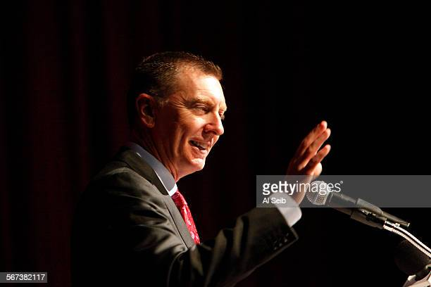 Supt Dr John Deasy all the school board members and senior admins present at Garfield High School Tuesday morning August 5 2014