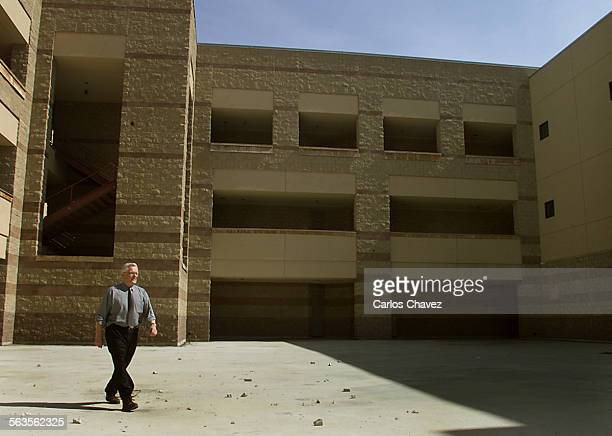 LAUSD Supt Roy Romer walks through part of the campus was the key to reviving the Belmont Learning Center the school board will vote on Tuesday to...