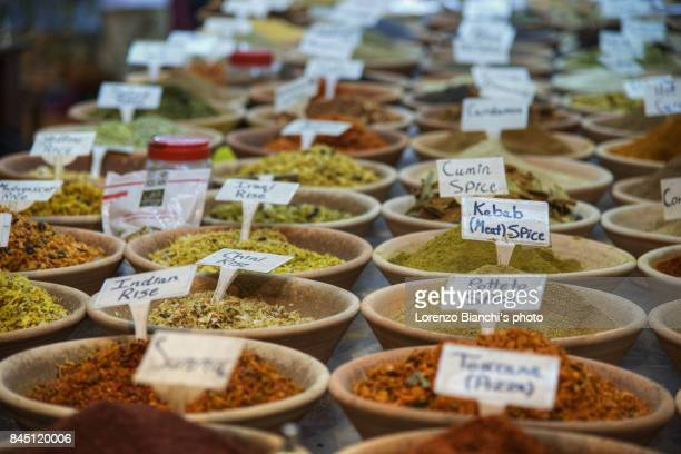 Suq El Bazar, Jerusalem (Close-up on spices)