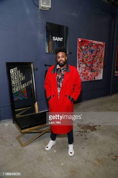 Sur Fresh attends the private opening of the Good Luck Dry Cleaners Bowery location at 3 East 3rd on December 19 2019 in New York City