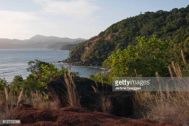 sur les hauteurs de mtsanga nyamba - comores photos et images de collection