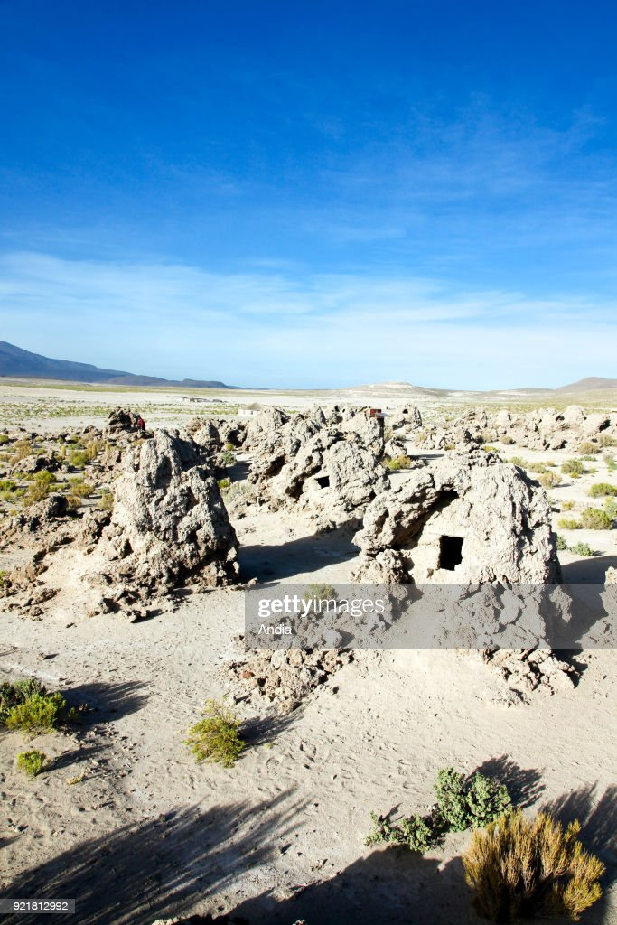 Pre-Incan necropolis of San Juan de Rosario. : News Photo