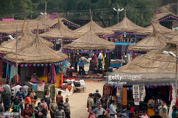 Suraj Kund Handicrafts Mela, Fair, Faridabad, Events, Culture, Colourful, Crowd, Karnataka Hutments, Cultural, Activity, People, Market, Shopping,...