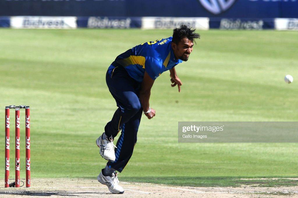 South Africa v Sri Lanka - 3rd KFC T20 International : News Photo
