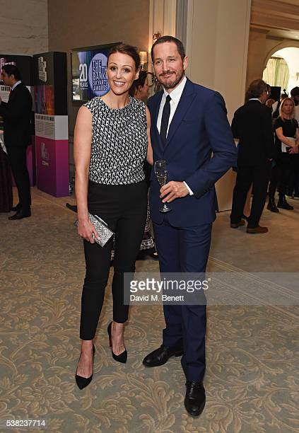 Suranne Jones and Bertie Carvel attend the The South Bank Sky Arts Awards airing on Wednesday 8th June on Sky Arts at The Savoy Hotel on June 5 2016...