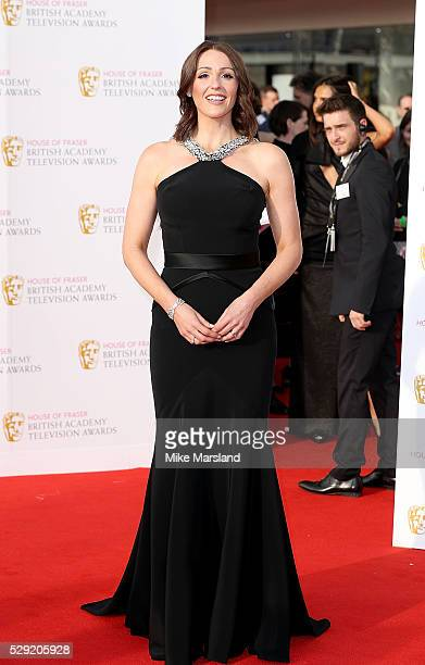 Suranne Jones arrives for the House Of Fraser British Academy Television Awards 2016 at the Royal Festival Hall on May 8 2016 in London England