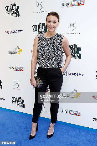 Suranne Jones arrives for the The South Bank Sky Arts Awards at The Savoy Hotel on June 5 2016 in London England