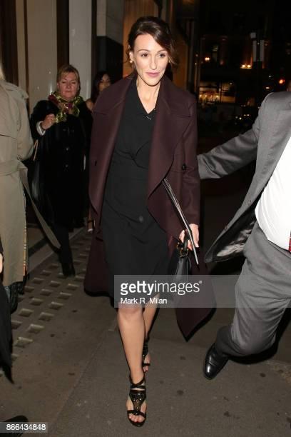 Suranne Jones attending the BAFTA Breakthrough Brits event at Burberry Regent Street on October 25 2017 in London England