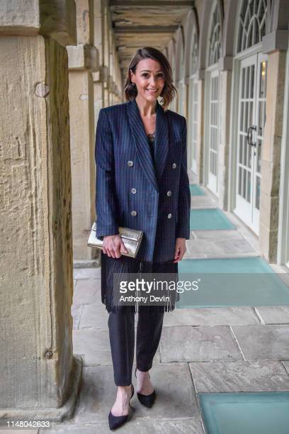 Suranne Jones attends BBC One Drama Gentleman Jack Yorkshire Premiere at The Piece Hall on May 09 2019 in Halifax England